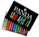 Boîte de 12 pastels gras PANDA