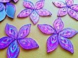 Brillant Violet Clair Couleur Cristal AB Eye navette forme 16* * * * * * * * 30mm cabochons à ...