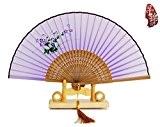 BTJC Enfants de fan de sexe féminin chinois nouvelle femelle cadeau fan fan femmes cadeaux et arts mécaniques ventilateur