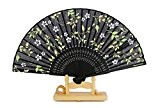 BTJC Fan de sexe féminin chinois nouvelle femelle fan des femmes noires femmes cadeaux et arts mécaniques ventilateur