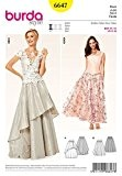 Burda B6647 Patron de Couture Jupe Papier Blanc 19 x 13 x 1 cm