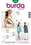 Burda B7098 Patron de Couture T-Shirt 19 x 13 cm