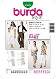 Burda B7505 Patron de Couture Jupe et Pantalon 19 x 13 cm