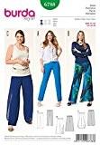 Burda femme Plus Patron de couture facile Pantalon - 6788 3 Styles