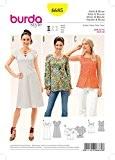 Burda Mesdames facile 6685Patron de Couture Haut, tunique et robe + sans Minerva Crafts Craft Guide