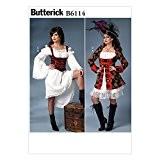 Butterick Patterns 6114 E5 Patrons de Costumes pour femmes taille 35, 5-40,6 46