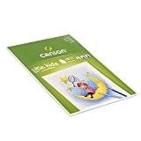 Canson Kids Papier à dessin 30 feuilles A3 29,7 x 42 cm Blanc