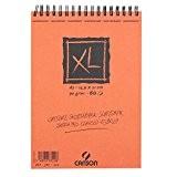 Canson XL Croquis 200787220 Papier à dessin 60 feuilles A5 14,8 x 21 cm 90 g Ivoire