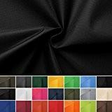 Carry - toile - imperméable - Tissu - 100% polyester - vendu au mètre (noir)