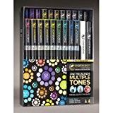 Chameleon - Pack Deluxe 22feutres marqueurs pastels professionnels