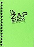 Clairefontaine 10,5x 14,8cm Demi Zap Book à spirales en couleurs assorties
