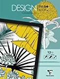 Clairefontaine 13 x 17 cm-livre Papier de plantes pour adulte Multicolore