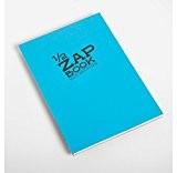 CLAIREFONTAINE Lot de 3 Blocs 1/2 Zap Book encollé grand coté 80 Feuilles A5 80g couvertures assorties