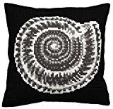 Collection D'Art 5142 Ammonite Kit de Coussin Gros Trous Coton Multicolore 50 x 45 x 0,1 cm