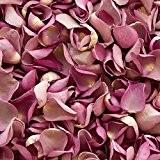 Confettis de pétale de rose biodégradable pour mariages (Lavande, 2 Litres)