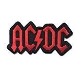coolpart ACDC AC/DC Music Band Logo Heavy Metal Rock Punk Music Band Logo Patch à coudre Patch Fer Sur brodé ...