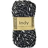 Coton à tricoter INDY 012 Noir