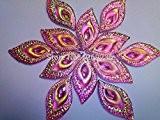 Couleur de Rose AB Eye navette forme cabochons à coudre pierres strass en cristal Accessores 16* * * * * ...