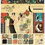 Couture Double-face de papier bloc 12 « X 12 »-24 feuilles - 12 dessins/2 de chaque