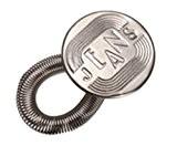 Couture mercerie: bouton extension rallonge ressort 2,5 cm pour pantalon motif jeans