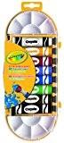 Crayola - Loisir Créatif - Boîte De 8 Tubes De Gouache