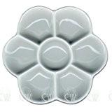 Curtisward artistes Petite classique en porcelaine Blanc Daisy Palette