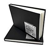 Daler Rowney-Ébène d'artiste à couverture rigide Carnet de croquis-150g/m²-62pages-A5-Lot de 2