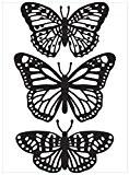 Darice 1219-405 Modèle Trio de Papillons Classeur de Gaufrage Plastique Transparent 10,8 x 14,6 x 0,3 cm