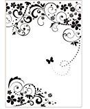 Darice 3605-005 Modèle Cadre Papillon Classeur de Gaufrage Plastique Transparent 29,7 x 21 x 0,3 cm