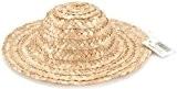 Darice Gabarit d'embossage haut paille chapeau rond 14-inchnatural, d'autres, multicolore