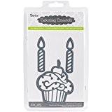 Darice Matrice de gaufrage Métal Essentials dies-cupcake et bougies