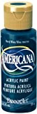 DecoArt Americana Peinture acrylique 2oz multi-usages, bleu marine