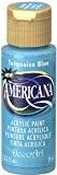 DecoArt Americana Peinture acrylique multi-usages, bleu turquoise