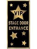 Décoration de porte VIP - Taille Unique
