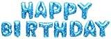 Dekorex® Happy Birthday amour ballon gonflable Guirlande de lettres et strass Feuille de Ballons de 40 cm ballon d'hélium décoration
