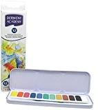 Derwent Color Academy Godets d'Aquarelle (Boîte de 12)