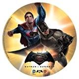 [DESTOCKAGE] Disque Azyme Batman VS Superman - Décoration Gâteau Enfant - 20 cm LIVRAISON GRATUITE