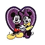 Disney applications * Patches thermocollants pour coudre * * Mickey Minnie Pluto Donald Daisy * Prym, Polyester, Clubhouse Micky Herz, ...