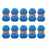Distrifil - 10 pelotes de laine à tricoter Distrifil RUBIS 0151 pas cher 100% acrylique - 1463.0151