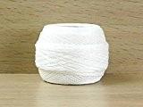DMC Écossais Cebelia Crochet Coton Fil Taille 30Blanc-par balle 50g