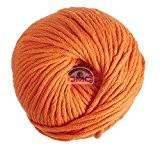 DMC fil Natura, 100% coton, couleur 10Orange, X-Large
