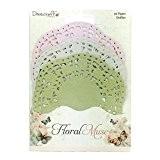 Dovecraft Floral Muse Napperons en Papier, Multicolore