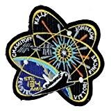 Écusson brodé Ecussons Thermocollants Broderie Sur Vetement Ecusson ,SPACE SHUTTLE STS-134 PATCH 10cm ,, nasa