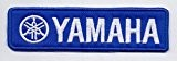 "Écusson brodé Ecussons Thermocollants Broderie Sur Vetement Ecusson "" YAMAHA"" Logos F1, Moto GP & Sponsors"