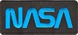 Ecusson brodé Ecussons Thermocollants NASA Light Blue