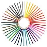 Ensemble de 48 crayons aquarelle - Assortiment de couleurs vibrantes, utilisés par les artistes, les designers et les adultes faisant ...