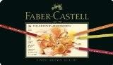 Faber-Castell 110036 Crayon Polychromos boîte métal de 36 pièces