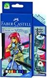Faber-Castell 114484 Etui MANGA ART GRIP AQUARELLE Fantasy