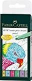 Faber-Castell 167163 Feutre PITT artist pen pastel étui de 6