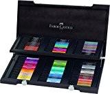 Faber-Castell 167400 Coffret Bois 90 feutres PITT artist pen
